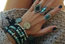 Jewelry / Inspiration for jewelry combinations.