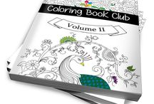 Coloring Books / Coloring books to color