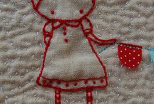 Embroidery, crewel, crossstitch / by Meredith e