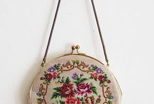 cross stitch bags