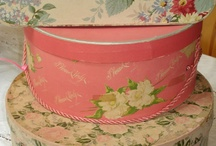 A Thing for Hatboxes / Hatboxes old and new. Love them all ! / by Gail Olds