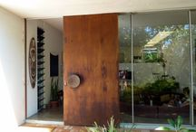 COPPER ENTRANCE DOORS