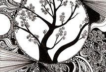 b&w&doodles