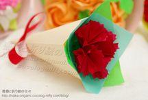 折り紙 花束