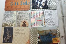 Project Life Inspired Scrapbooking Pages