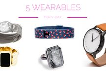 The 5 Hottest Ladies' Wearables / The 5 hottest ladies' #wearabletech for #Valentines this year: http://bit.ly/ladieswearables