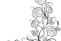 flowers paint