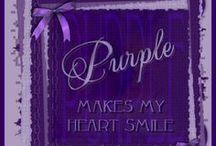 Purple makes my heart smile!