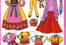 Paper Doll - Korea / http://m.grafolio.com/main.grfl Memories of paper dolls and South Korea's paper dolls of the young artists.