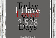 anniversary gift ideas / by Nicole Larsen