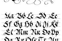 schriftzeichen