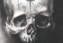 Skulls / by Jessica Pulido of OMG Goodies