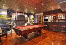 Manliest of Man Caves and Recreation Rooms