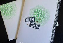"""I Think You're Great - Discontinued / Cards and projects created by Cheryll using the """"I Think You're Great"""" stamp set from Stampin' Up!® 2015-2016 Annual Catalogue."""