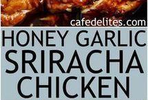 honey siracha chicken