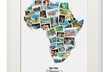 Treasure on the Wall - Destination Photo Collages