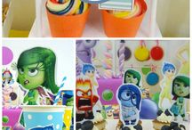 Inside Out Party Ideas / Sharing ideas for Inside Out birthday parties -- cakes, decorations, party foods and favors. See more party ideas at CatchMyParty.com.