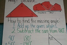 Unit 8: Angles, Triangles, Quadrilaterals / by Courtney Cocke