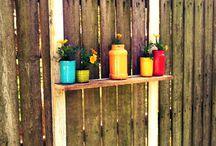 shelf fence