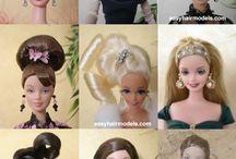 haar modellen barbie
