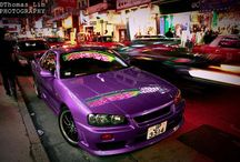 Purple Mossy Nissan / Awesome pictures of purple Nissan models