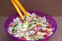 pasta salade voor de warme ďagen .