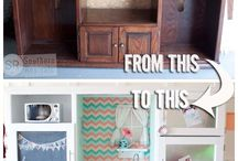 DIY for kids / Make it yourself from old furniture around the house.
