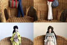 DOLLS / DOLL, doll making, art dolls,fabric dolls