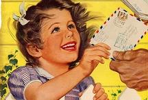 Vintage Postal Magazine Covers - Advertisements