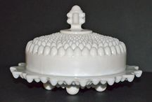 Covered butter dishes / by Judy McMichael