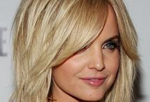 Mid Length Hair Styles / Hair that is not to long or too short, but very stylish...