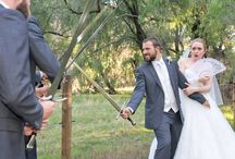 Wedding Swords by FableBlades / Custom Handcrafted wedding and handfasting swords daggers blades by Brendan Olszowy at Fable Blades Groom Best Man Bridal Pagan Ceremonial