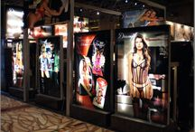 Trade Show Printing Materials and Finishes / There's many different kinds of fabrics, materials, and finished to choose from when ordering your display. Here's some examples of the different options in different applications.
