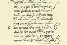 Calligraphy: Cancellaresca