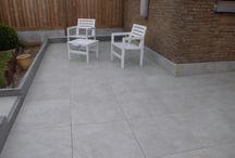 VLOERTEGELS | Keramische terrastegels / Keramische terrastegels in 2cm voor buiten. Op het terras, de oprit of in het poolhouse