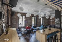 5 RESTAURANTE / Una casona de 1900 dividida en 2 espacios diferenciados, un bar en la planta baja y un restaurante gastronómico en la primera planta.