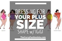 Plus size dressing