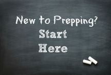 """New to Prepping? Start Here! / Are you new to preparedness? This board is a collection of information that is vital to the newbie prepper. If you've been at it for a while, you may find some great posts to share with friends to give them a gentle nudge in the """"prepped"""" direction. / by Daisy Luther"""