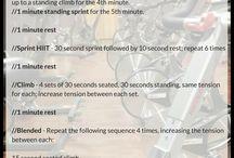 Spin bike Workouts