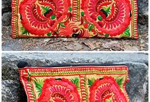 Sobres bordados - Tailandia
