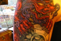 Tattoo - foo dog / Tattoos of foo/fu/lion dogs.