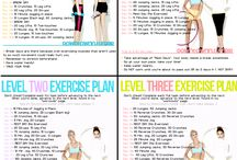Fitness / Random stuff to keep feet and lose weight