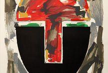 Rafael Canogar / Galería de Arte Contemporáneo Grabados Chillida. Obra gráfica en venta del artista español Rafael Canogar.