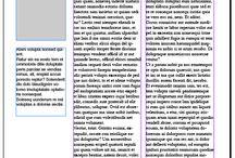 typo zines / typograph magazines layouts