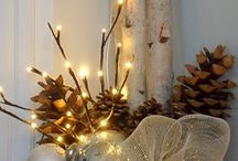 Rustic Christmas / Old fashioned, primitive, country style - it's more than just nostalgic / by Drought Smart Plants