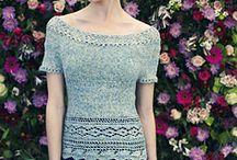 knitting Louisa Harding / dem jeg har
