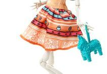 Skelita Calavera / Monster High character. Day of the Dead doll.