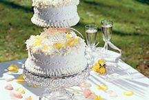 DYI wedding cake
