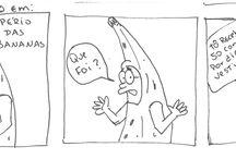 OUTRO CAETANO / Mais tirinhas mal desenhadas e piadas desnecessárias!