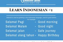 Learn Indonesian Online with Volunteer Guide Bali / In our Indonesian language guide, you will learn all the basics you need to have a conversation in Indonesia, and all the specifics you need to volunteer or do an internship in Bali! Learn bahasa Indonesia through video and text.